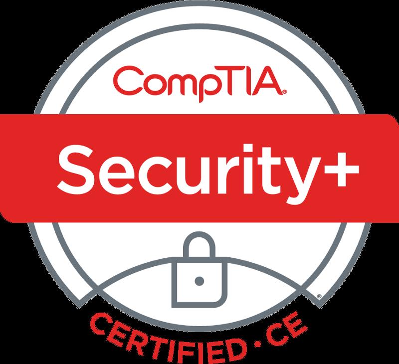 Security Plus Logo Certified CE
